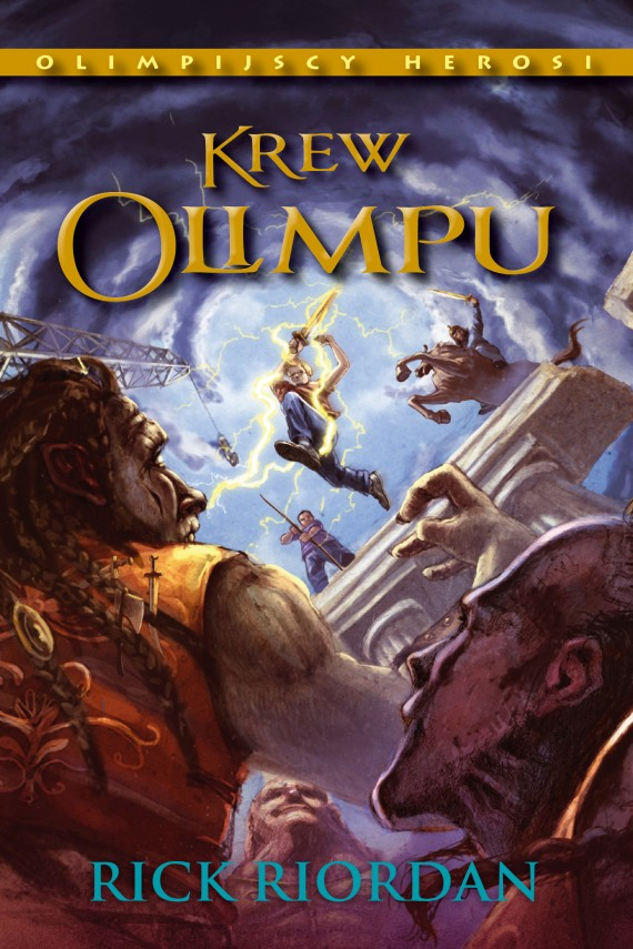 okładka Krew Olimpuebook | EPUB, MOBI | Rick Riordan, Agnieszka Fulińska