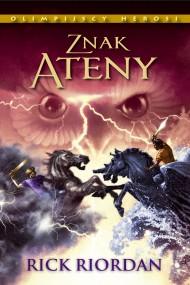 okładka Znak Ateny, Ebook | Andrzej Polkowski, Rick Riordan