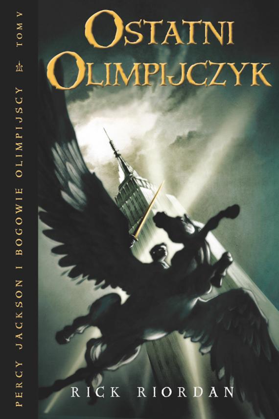 okładka Ostatni olimpijczykebook   EPUB, MOBI   Rick Riordan, Agnieszka Fulińska