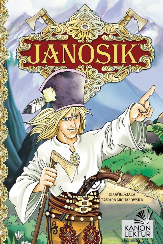 okładka Janosikebook | EPUB, MOBI | Tamara  Michałowska