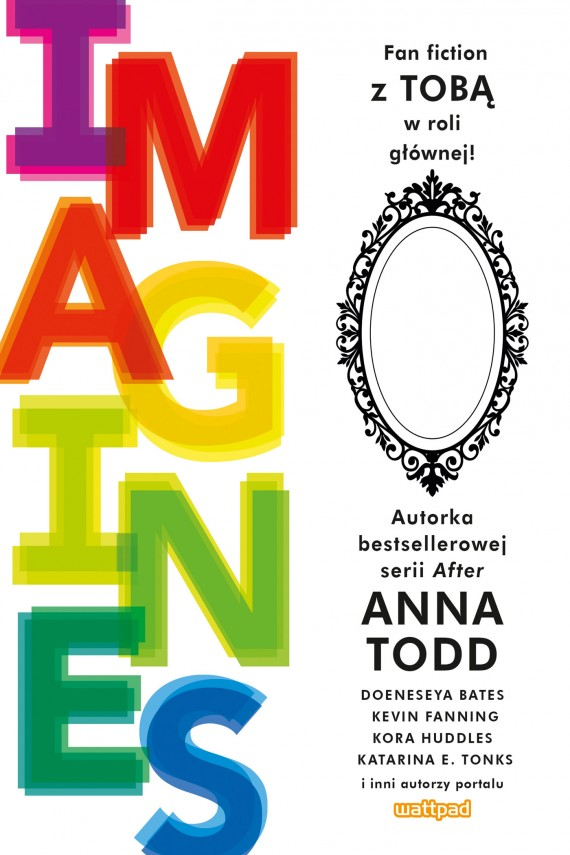 okładka Imaginesebook | EPUB, MOBI | Anna Todd