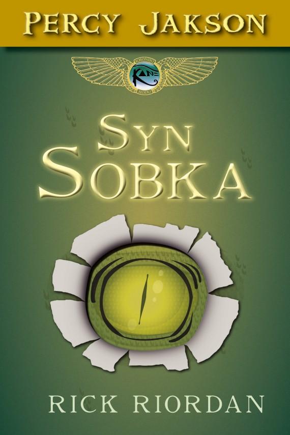 okładka Syn Sobkaebook | EPUB, MOBI | Rick Riordan, Agnieszka Fulińska