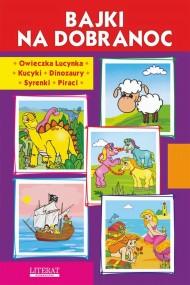 okładka Bajki na dobranoc. Owieczka Lucynka. Kucyki. Dinozaury. Syrenki. Piraci, Ebook | Krystian  Pruchnicki