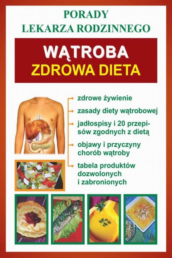 okładka Wątroba. Zdrowa dietaebook | PDF | Praca zbiorowa