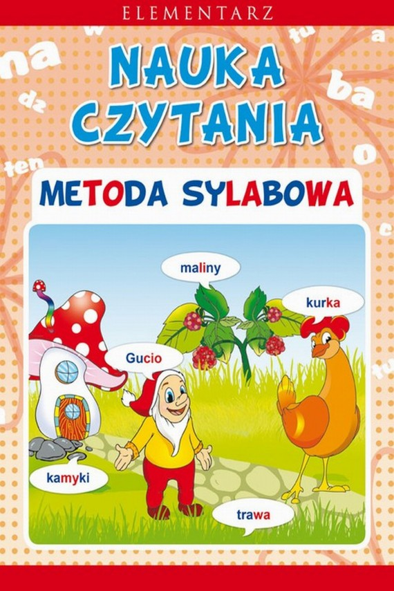 okładka Nauka czytania. Metoda sylabowa. Ebook | PDF | Beata  Guzowska