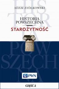 okładka Historia powszechna. Starożytność. Część 2, Ebook | Adam  Ziółkowski