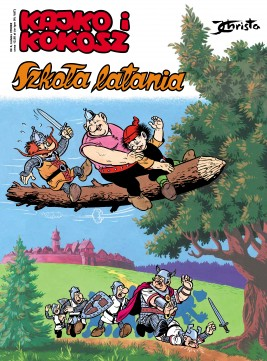 okładka Kajko i Kokosz. Szkoła latania, Ebook | Janusz Christa
