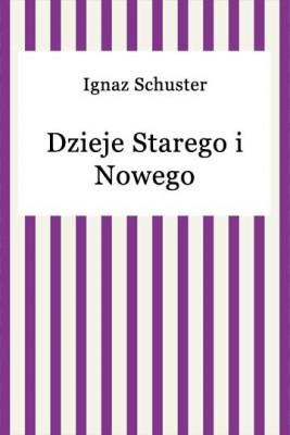 okładka Dzieje Starego i Nowego Testamentu, Ebook   Ignaz Schuster