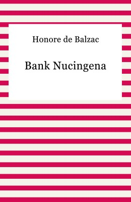 okładka Bank Nucingena, Ebook | Honore De Balzac