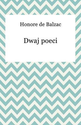 okładka Dwaj poeci, Ebook | Honore De Balzac