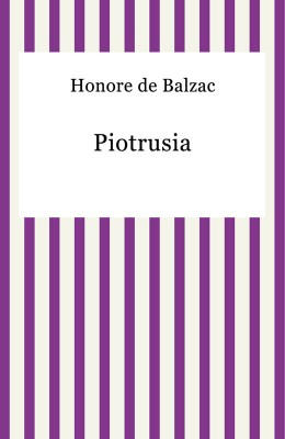 okładka Piotrusia, Ebook | Honore De Balzac
