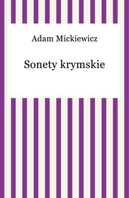 okładka Sonety krymskie, Ebook | Adam Mickiewicz