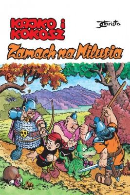 okładka Kajko i Kokosz - Zamach na Milusia, Ebook | Janusz Christa