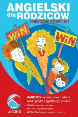okładka Angielski dla rodziców. Przewodnik metodyczny deDOMO, Ebook | Grzegorz Śpiewak