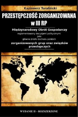okładka Przestępczość zorganizowana w III RP, Ebook | Kazimierz Turaliński