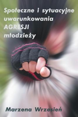 okładka Społeczne i sytuacyjne uwarunkowania agresji młodzieży, Ebook | Marzena Wrzesień