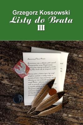 okładka Listy do brata III, Ebook | Grzegorz Kossowski