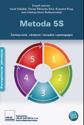 okładka Metoda 5S. Zastosowanie. wdrażanie i narzędzia wspomagające., Ebook | zespół autorów