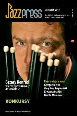 okładka JazzPRESS - grudzień 2012, Ebook | autor zbiorowy