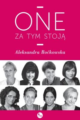okładka One za tym stoją, Ebook | Aleksandra Boćkowska