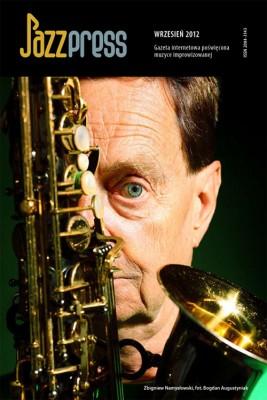okładka JazzPRESS - wrzesień 2012, Ebook | autor zbiorowy