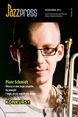 okładka JazzPRESS - październik 2012, Ebook | autor zbiorowy