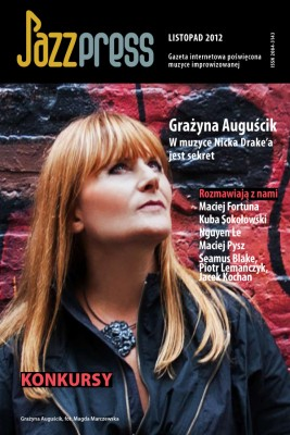 okładka JazzPRESS - listopad 2012, Ebook | autor zbiorowy