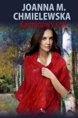 okładka Karminowy szal, Ebook | Joanna M. Chmielewska