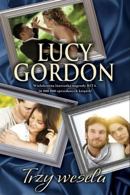 okładka Trzy wesela, Ebook   Lucy Gordon