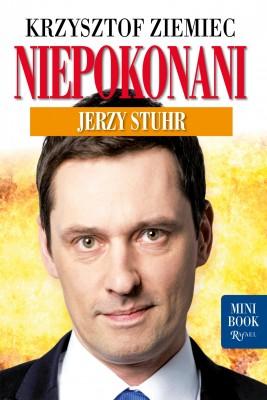 okładka Niepokonani. Jerzy Stuhr. Minibook, Ebook | Krzysztof Ziemiec