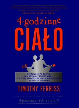 okładka 4-godzinne ciało, Ebook | Timothy Ferriss