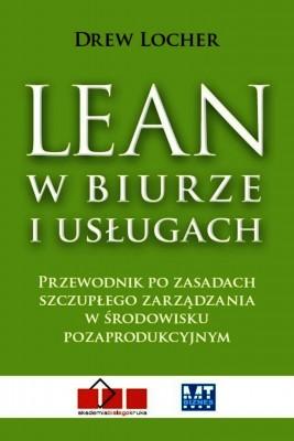 okładka Lean w biurze i usługach, Ebook | Drew Locher