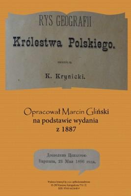 okładka Rys geografii Królestwa Polskiego 1887 (opracowanie), Ebook | K. Krynicki