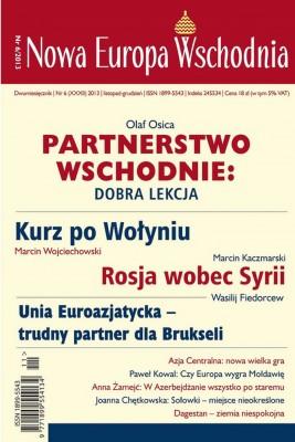 okładka Nowa Europa Wschodnia 6/2013, Ebook | zbiorowe zbiorowe