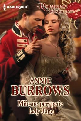 okładka Miłosne perypetie lady Jane, Ebook | Annie Burrows