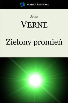 okładka Zielony promień, Ebook | Jules Verne