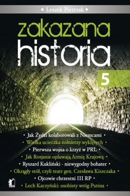 okładka Zakazana Historia 5, Ebook   Leszek  Pietrzak