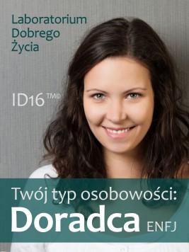okładka Twój typ osobowości: Doradca (ENFJ), Ebook | Laboratorium Dobrego Życia (LDŻ)