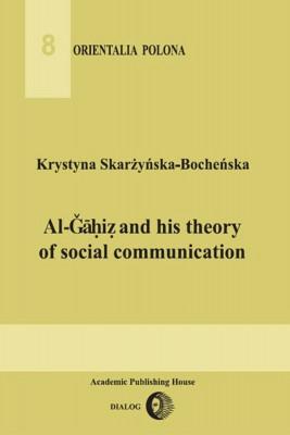 okładka Al-Gahiz and his theory of social communication, Ebook | Krystyna  Skarżyńska-Bocheńska