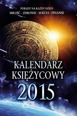 okładka Kalendarz Księżycowy 2015, Ebook | Miłosława Krogulska, Izabela Podlaska – Konkel