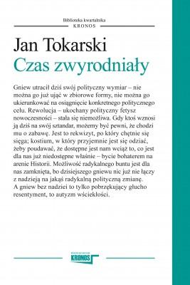 okładka Czas zwyrodniały, Ebook | Jan Tokarski