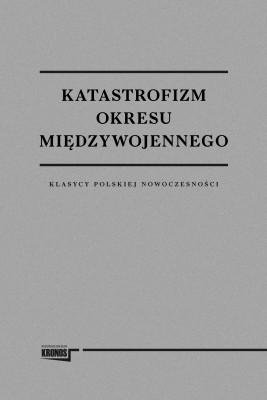 okładka Katastrofizm okresu międzywojennego, Ebook | opracowanie zbiorowe