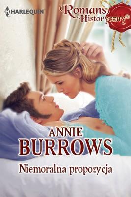 okładka Niemoralna propozycja, Ebook | Annie Burrows