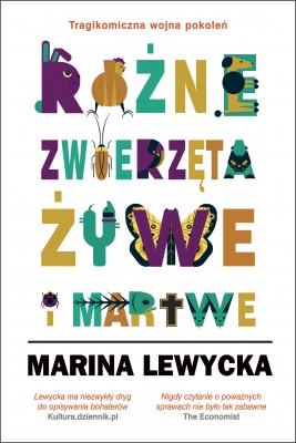 okładka Różne zwierzęta żywe i martwe, Ebook | Maryna Lewycka