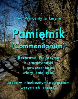 okładka Pamiętnik Commonitorium, Ebook | Wincenty z Lerynu
