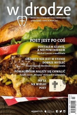 okładka Miesięcznik W drodze 3/2015, Ebook | Opracowanie zbiorowe