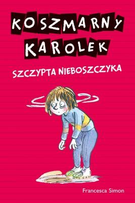 okładka Koszmarny Karolek. Szczypta nieboszczyka, Ebook | Francesca Simon