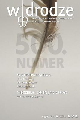 okładka Miesięcznik W drodze 4/2015, Ebook | opracowanie zbiorowe