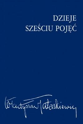 okładka Dzieje sześciu pojęć, Ebook | Władysław  Tatarkiewicz