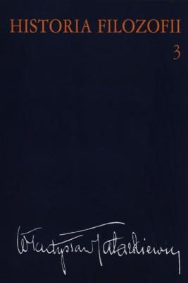 okładka Historia filozofii Tom 3, Ebook | Władysław  Tatarkiewicz